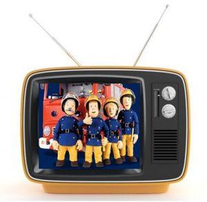 sam el bombero en tv